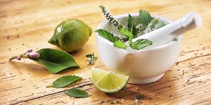 Starke Wirkung: Limette, Bergamotte und Minze