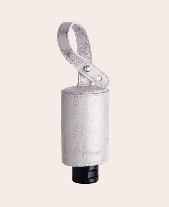 Hygiene Handgel-RefreshME Taschenanhänger CarryME-Set TREND silber