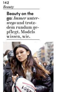 RefreshME Handgel DIVA Magazin Leder Etui