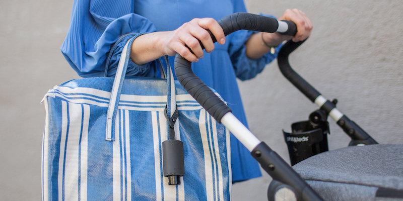 Hände Desinfektion Kinderwagen CarryME-Set