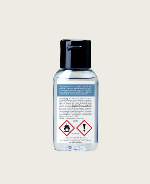 Haende Desinfektion Pericosa RefreshME Hand Desinfektionsgel viruzid