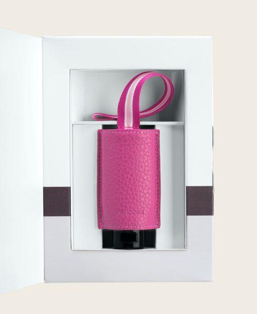 Hand Desinfektionsgel viruzid Leder Taschenanhänger Verpackung
