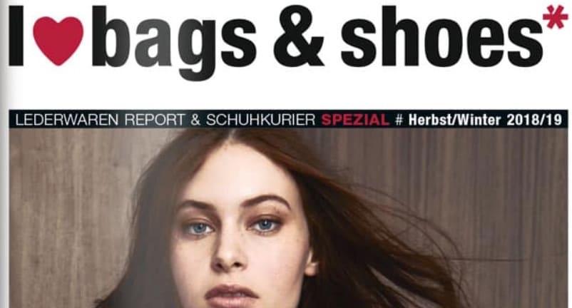 I love bags und shoes: Lederanhänger mit Handgel