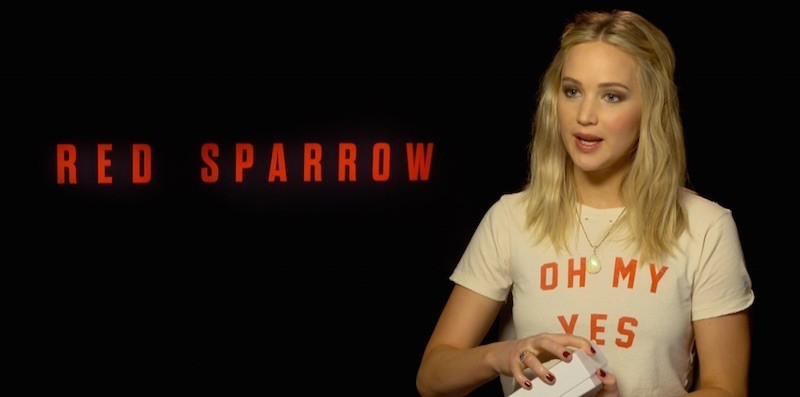Red Sparrow: Jennifer Lawrence mag CarryME-Set