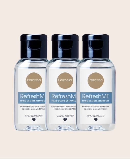 Pericosa RefreshME Haendedesinfektion viruzid 3er-Set 90ml