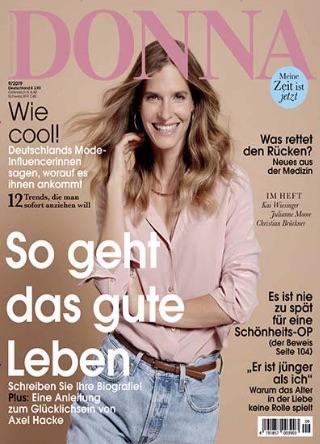 RefreshME Handgel Leder-Etui Donna Magazin