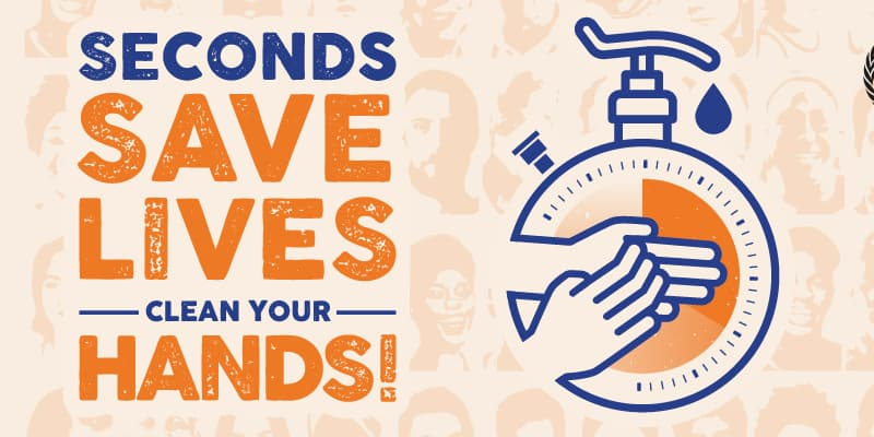 Welt-Hygiene-Tag WHO Handhygiene sichert Leben